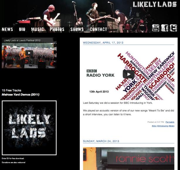 Our Websites Split!